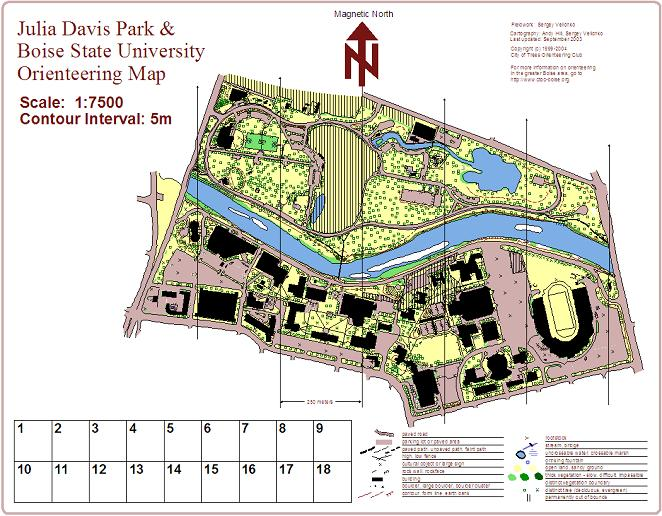 City of Trees Orienteering Club CTOC Maps and Directions